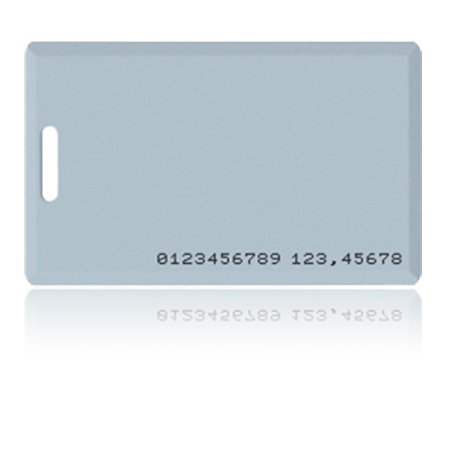 Mifare RFID Pre Printed Cards Holepunched
